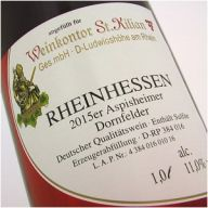 Dornfelder Rotwein - feinherb